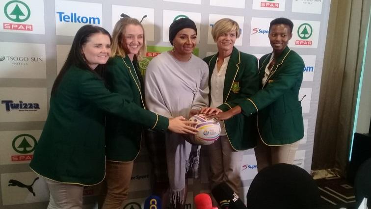 SABC News NetballSA 1 - Burger hoping for a medal at the netball World Cup