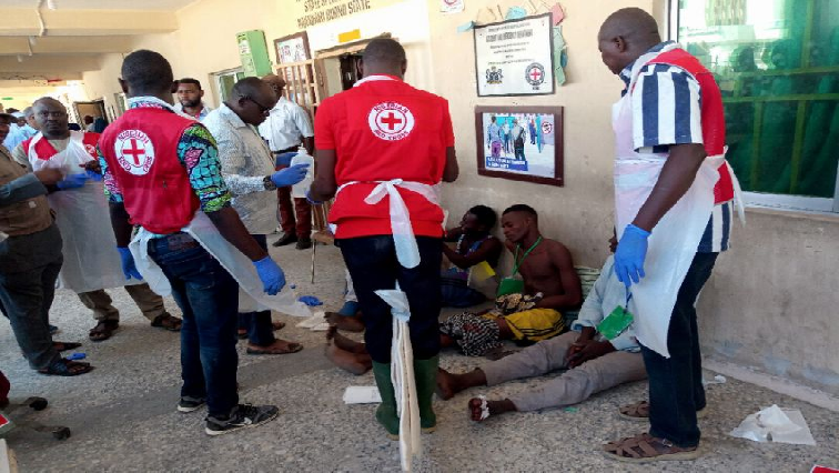 Nigerian healthworkers helping citizens