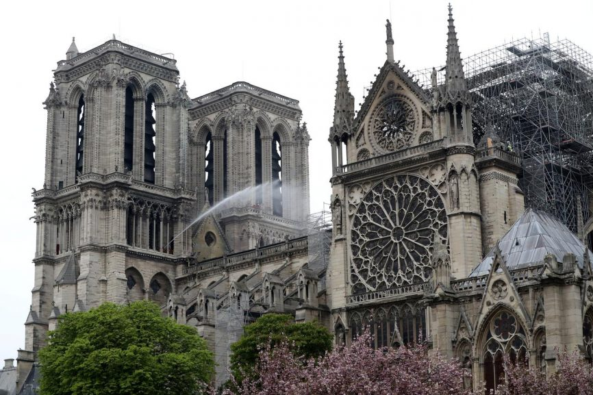 SABC News Notre Reuters 866x577 - Notre-Dame to hold first mass since blaze