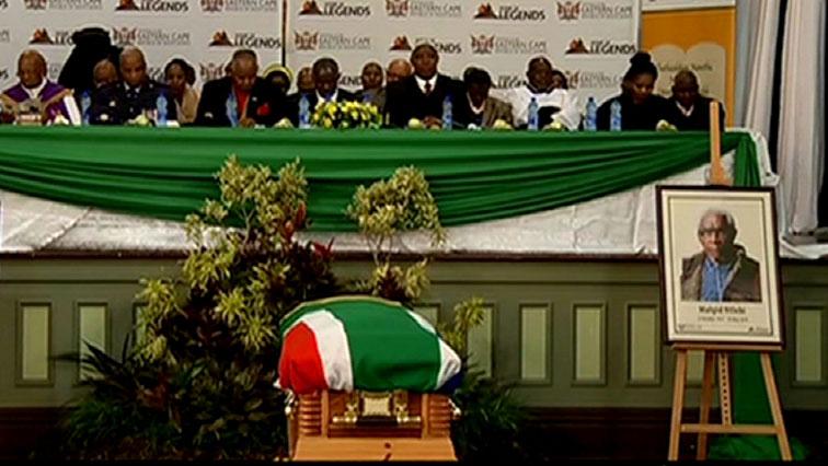 SABC News Ntlebi - ANC veteran Malgid Ntlebi laid to rest