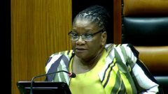 National Assembly Speaker Thandi Modise.