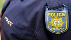Police person wearing uniform
