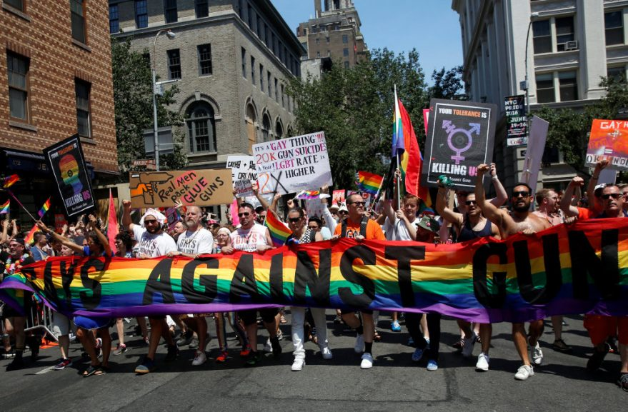 SABC News Pride Reuters 879x577 - Millions expected for Gay Pride march marking Stonewall riots anniversary
