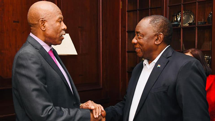 SABC News Ramaphosa Kganyago - Ramaphosa reiterates commitment to safeguarding Reserve Bank