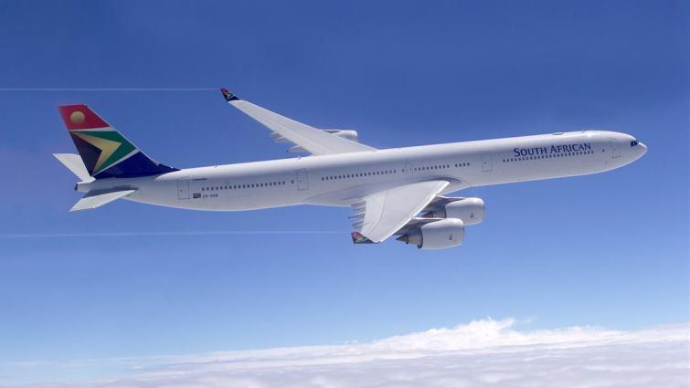 SABC News SAA plane SAA - SAA Board accepts Jarana's departure
