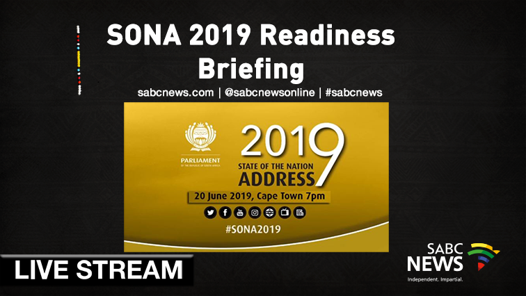 SABC News SONA Briefing Live - WATCH: Parliament briefing on SONA