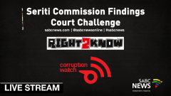 Seriti Commission Livestream picture