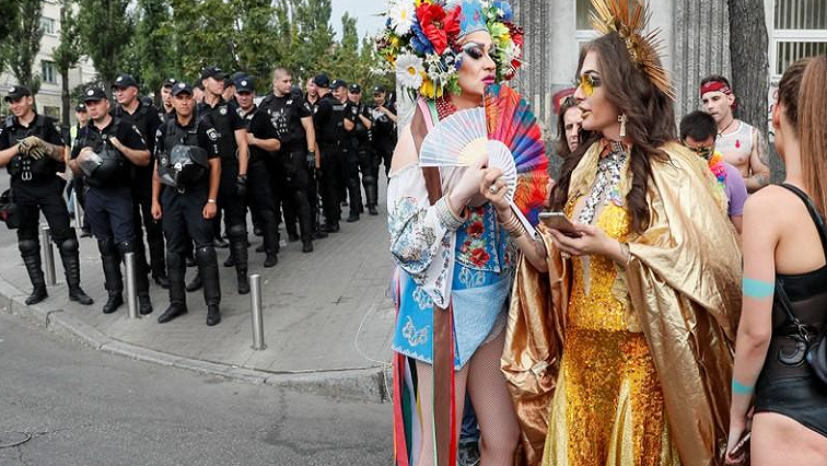 SABC News Ukraine R - Ukraine hosts biggest ever gay pride parade