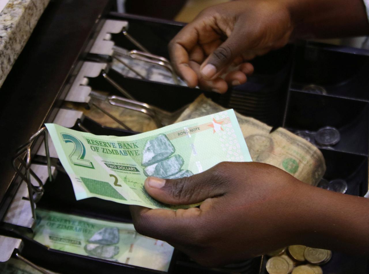 Zimbabwe S Interim Currency Falls Low Sabc News Breaking