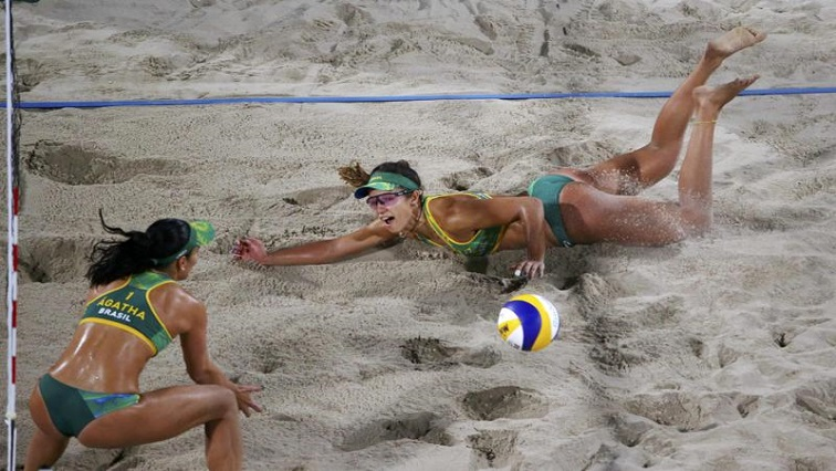 SABC News beach volleyball R - Beach volleyball is popular in South Africa – Rorich