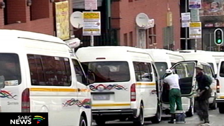 SABC News Taxi 1 - Taxi operators have started queuing for vetting