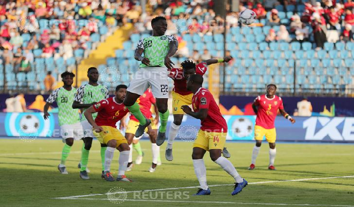 SABC News  Kenneth Omeruo Reuters - Nigeria's momentum pushes them to AFCON knockout stages