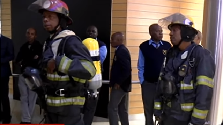 SABC News  Sabc Evacuation - SABC building declared safe following fire scare