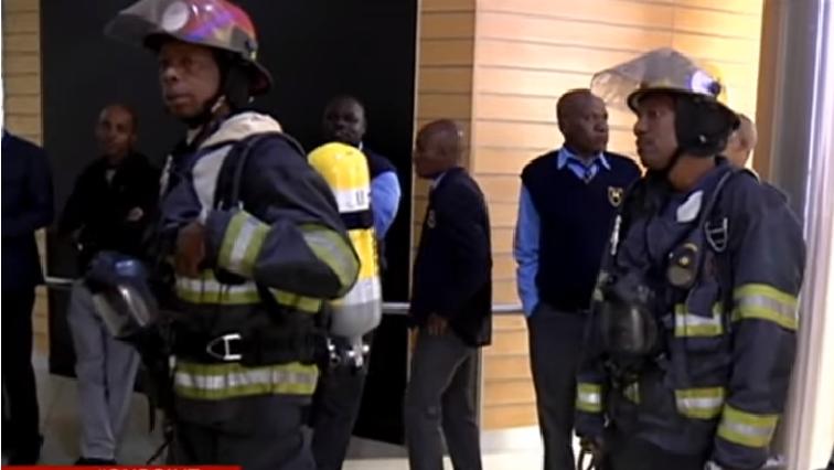 SABC Evacuation