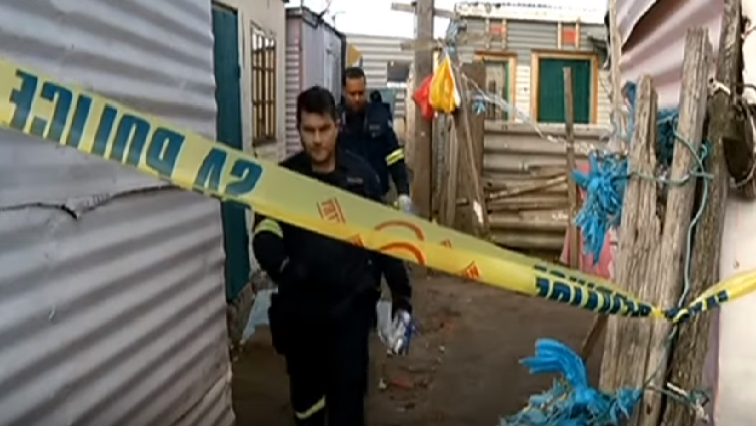 SABC News Crime scene - Two arrested following gun attack on anti-gang police members