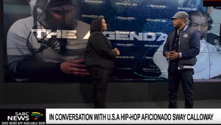 Hip Hop aficionado Sway Calloway on visit to SA - SABC News - Breaking news, special reports, world, business, sport coverage of all South African current events. Africa's news leader.