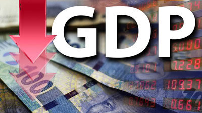 gdp down - SA economy drops by 51%