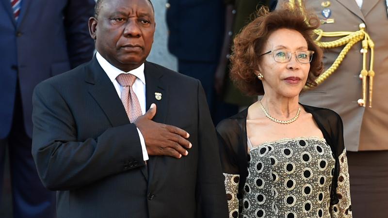 President Ramaphosa and Dr Motsepe