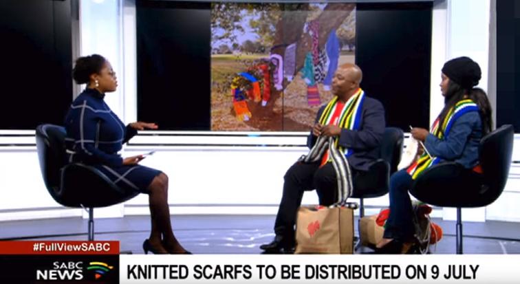 67 Blankets for Nelson Mandela - 67 Blankets for Nelson Mandela Day gears up for Secret Scarf Mission