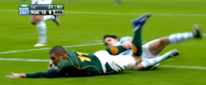 Habana try 300x124 - Springboks World Cup glories and woes