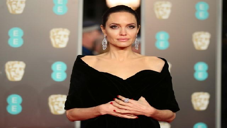 SABC News Angelina Jolie Reuters - Jolie in 'Eternals', Ali as 'Blade' highlight Marvel's star-studded slate