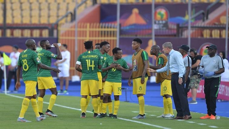 Bafana Bafana players