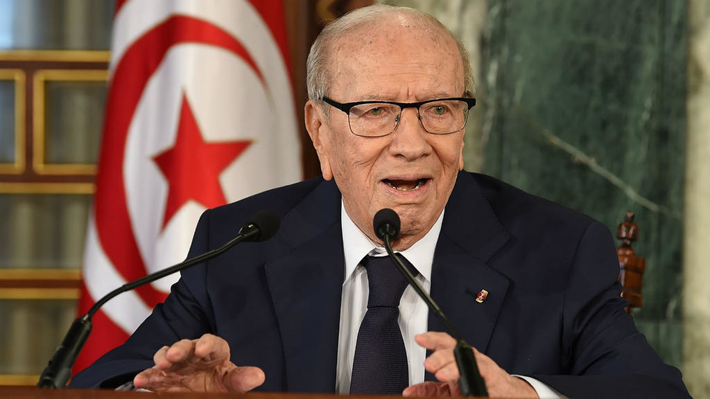 Tunisian President Beji Caid Essebsi, who died on July 25, 2019, aged 92.