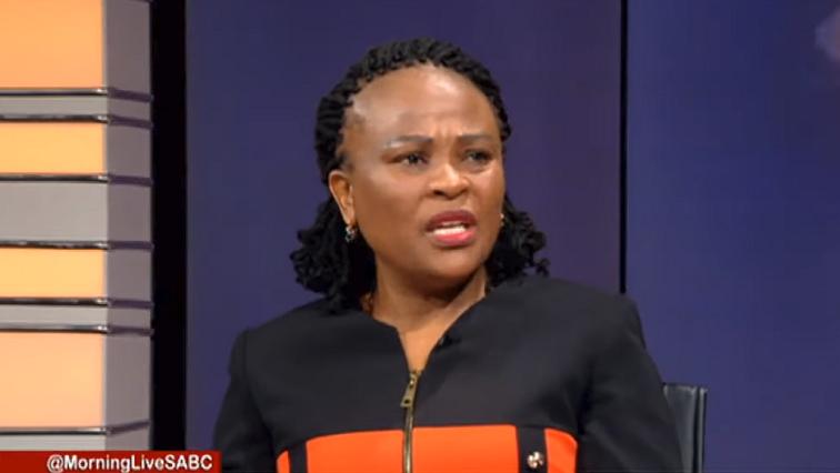 "SABC News Busisiwe Mkhwebane M - Mkhwebane ""extra cautious and afraid of the courts"""