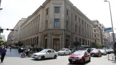 Central Bank of Egypt's headquarter is seen in downtown Cairo, Egypt.