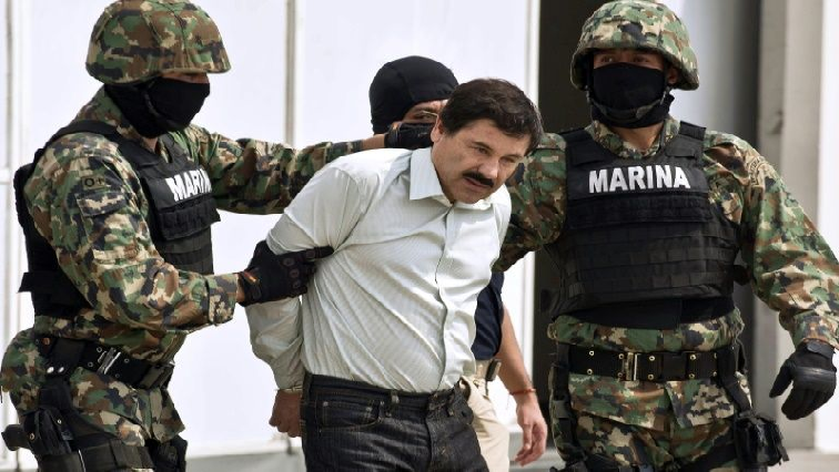 SABC News El Chapo AFP - El Chapo awaits life in prison sentence by US judge