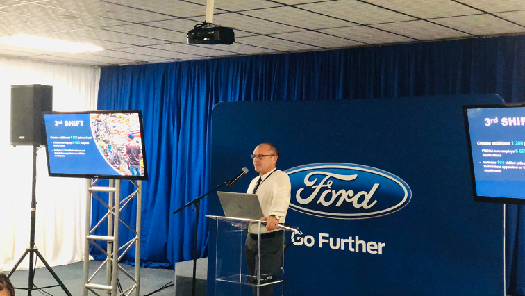 SABC News Ford Twitter @FordSouthAfrica - Ford SA creates 1200 new jobs