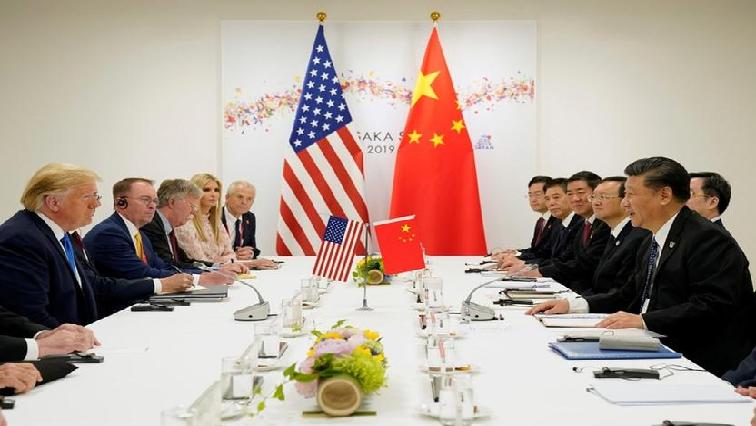 SABC News G20 leaders summit R - US, China move trade talks to Shanghai amid deal pessimism