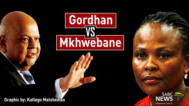 SABC News Gordhan and Mkhwebane Katlego Matshediso - Court reserves judgement in Mkhwebane, Gordhan review application