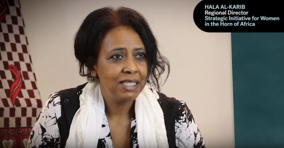 Human rights defender Hala Al-Karib from KIOS partner organisation Strategic Initiative for Women in the Horn of Africa (SIHA) speaks about challenges and achievements regarding her work for women rights in East Africa.