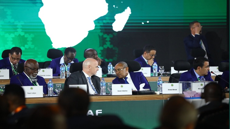 SABC News Infantinno Twitter - Fifa here to help Caf and not colonize Africa football : Infantino