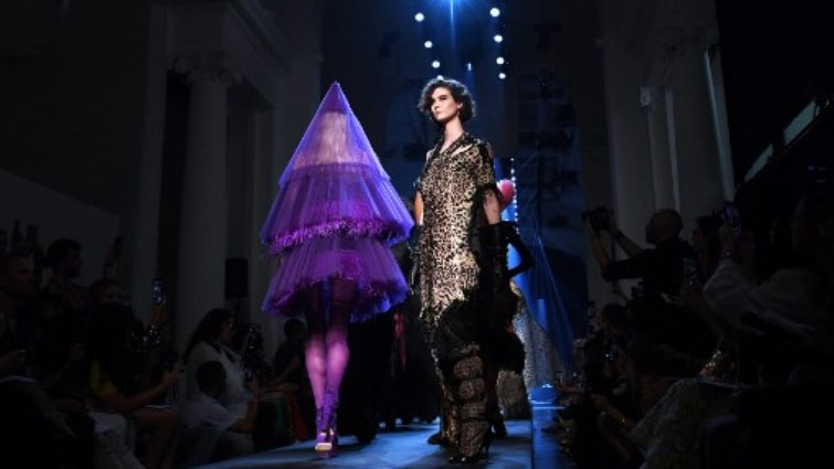 SABC News JP Gauthier creation AFP - Fashion icon Jean Paul Gaultier says he could go back on fur ban