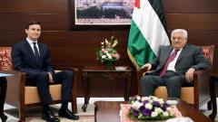 Jared Kushner and Mahmoud Abbas
