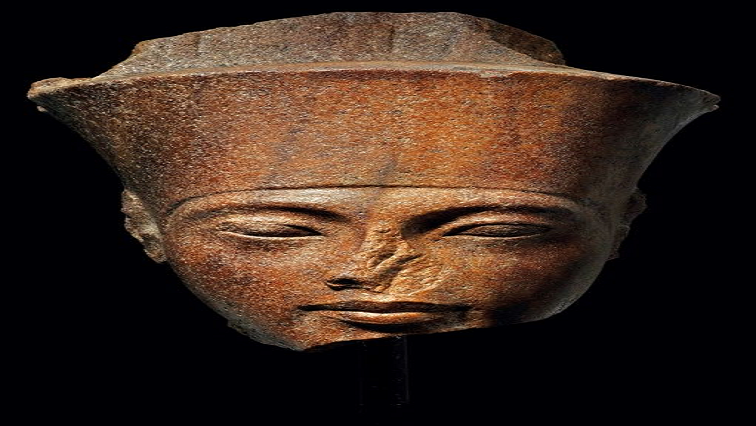 SABC News Kind Tut AFP - Tutankhamun sculpture's London auction sparks Egyptian outcry