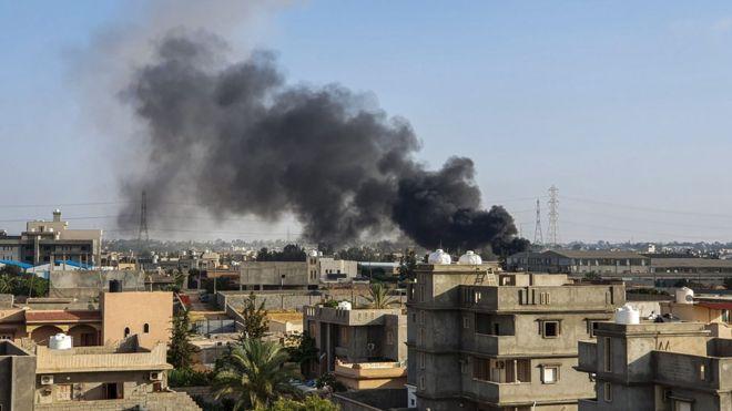 Turkey's support for Libya follows air strikes on Tajoura as part of Gen Haftar's Tripoli offensive.
