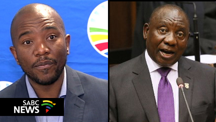 Maimane and Ramaphosa