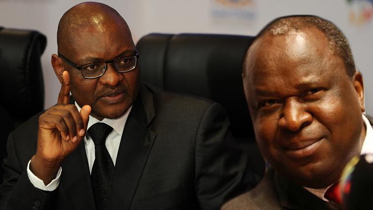 David Makhura and Tito Mboweni
