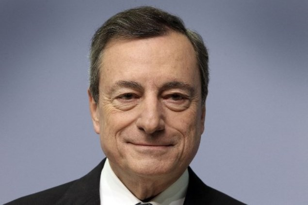 SABC News Mario Draghi AFP - Eurozone inflation outlook worsening: ECB's Draghi