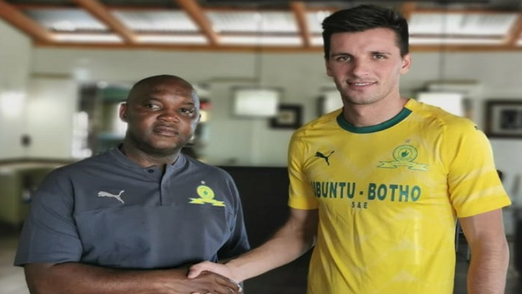 SABC News Pitso Twitter 1 - Sundowns sign new striker Mauricio Affonso
