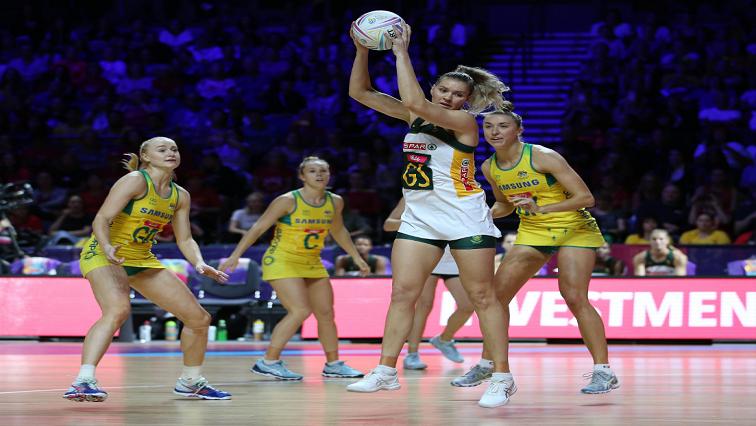 SABC News Proteas Australia Twitter @Netball SA - Proteas to play for bronze medal after narrow loss to Australia