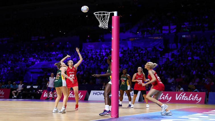 SABC News Proteas England Twitter @NetballWorldCup - Proteas lose to England in Netball World Cup bronze medal chase