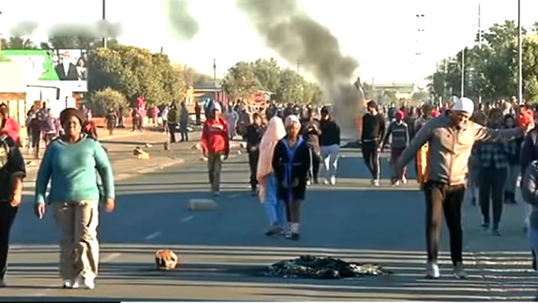 SABC News Protest P - Little has changed since our protest: Kimberley residents