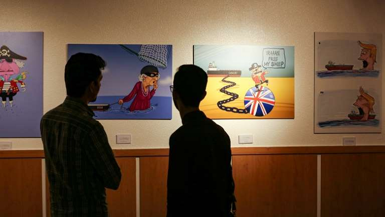 SABC News Queen Pirate AFP - Iran cartoonists depict queen as 'pirate' after British ship seizure