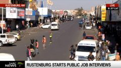 The Rustenburg Local Municipality in the North West is pioneering a new initiative as it starts to clean the slate.