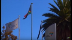 SABC flags with SA flag