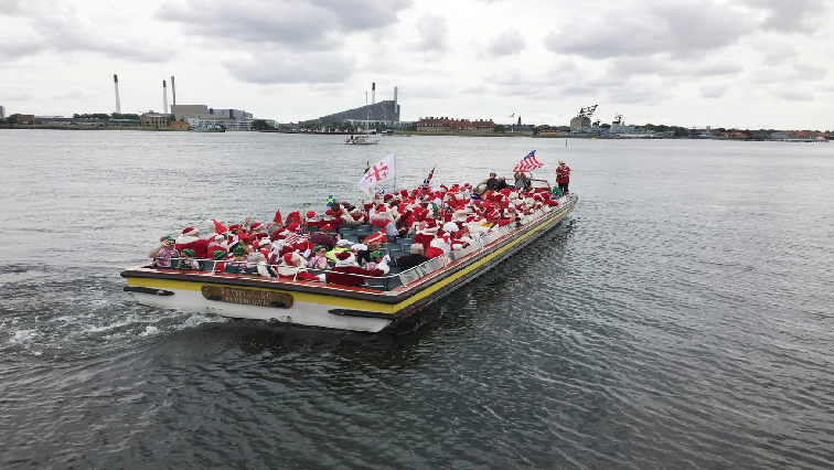 SABC News Santas R - Summertime, and the living is easy for Santas in Copenhagen
